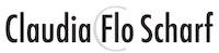 Claudia FLO Scharf Logo