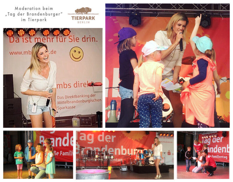 Moderation bei Familienfest